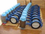 Kohlenstoffstahl-pneumatisches Drosselventil mit Flansch