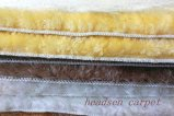 Manta de área de imitación avanzada de la estera de la alfombra de las lanas con la parte posterior de la TPE