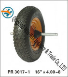 Rotelle pneumatiche della carriola con l'asse (16  X480/4.00-8)