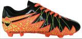 運動履物の人のフットボールは起動する屋外のサッカーの靴(815-5638)を