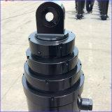 Cilindro hidráulico telescópico gradual