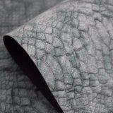 Cuoio artificiale dell'unità di elaborazione della superficie della pelle del coccodrillo del Matt, cuoio del sacchetto