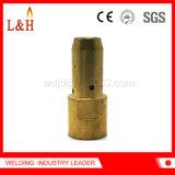 Gas-Diffuser- (Zerstäuber)kontakt-Spitze-Halter für PSF500 Esab Schweißens-Fackel