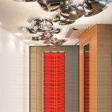 Moderne Deckenleuchte des Innen- und im Freien dekorativer Mercury-Stahlstein-20W LED