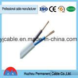 El fabricante de Zhejiang hizo Rvv/Rvvb el cable flexible