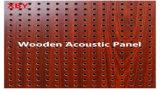 Panneau acoustique en bois panneau mural Panneau de plafond Panneau de décoration / panneau acoustique en bois carte couleur