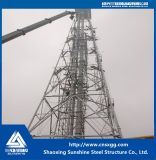 Buena calidad y torre barata de la estructura de acero para la industria química