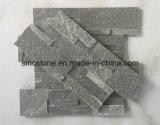18*35cm Vert Quartzite Décoration intérieur & extérieur de l'Ardoise de panneaux muraux de pierre