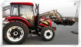 4WD Tractor 110HP&120HP met 4 in 1 VoorLader