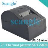 Impressora térmica de Sgt-5896 58mm da posição de Scangle