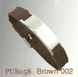 Браслет мужчин PUB058 коричневого цвета
