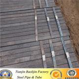 Conduttura d'acciaio quadrata di resistenza elettrica/rettangolare saldata