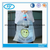 Le PEHD Colorvegetable fruits en plastique T-Shirt Sac de Shopping