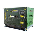 군 사용을%s 육군 녹색 침묵하는 디젤 엔진 발전기 7kw 방음 디젤 엔진 Genser