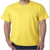 Custom white 100% Cotton Plain White T-shirt