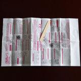 Прикрепленные бумажные перчатки, перчатки расцветки волос пластичные с инструкцией