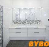 Kundenspezifisches weißes hohes glattes Bad Vantity (BY-B-10)