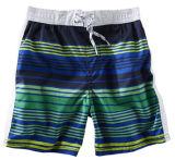 Les enfants Baby Boy Striped Spa Beach Maillot de bain Shorts
