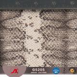 Bagagli materiali di cuoio sintetici impermeabili del PVC di nuovo disegno