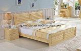 Festes hölzernes Bett-moderne doppelte Betten (M-X2269)