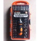 44PCS Conjunto de ferramentas do conjunto de Chave de Catraca