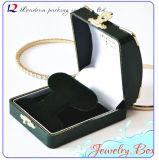 PU de cuero de la joyería joyas caja de almacenamiento caja de regalo Paquete (Ys303)