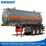 Quanlity 높은 기름 또는 황산 액체 수송 탱크 트레일러
