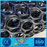 Drenaggio di plastica bidimensionale Geonet dell'HDPE