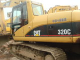 Gebruikte Cat 320clused Caterpillar Excavator 320c, Original From de V.S.