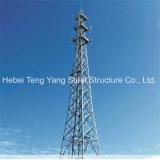 De fabriek paste Toren van de Antenne van 3 van het Been van het Staal Telecommunicatie van het Rooster de Tubulaire aan