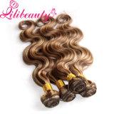Соткать волос волос 8p613# Ombre градиента верхнего качества естественный бразильский