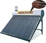 Aquecedor de água solar com alta Pressionado Tanque Assistente para Uso Doméstico