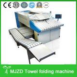 タオルの折る機械