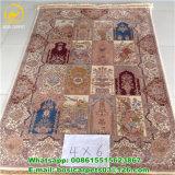 4X6ft стороны Knotted чистого шелковые ковры турецкие ковры ручной работы новой конструкции