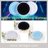 Noche de Luz Universal inalámbrica Qi Wireless Cargador de teléfono móvil