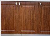 Armadio da cucina del MDF del PVC per la cucina che ritocca (zc-025)