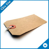 Custom Design Recycled Kraft Paper Jeans Hang Tags