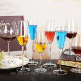 ハンドメイドの高品質のゆとりのガラスゴブレットのワイングラス