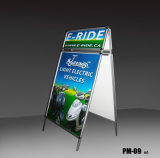 A1 Floor-Standing enseigne publicitaire affiche Stand (PM-09)