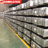 Hoja de acero galvanizada acanalada alta calidad del material para techos para África