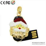 Het Geheugen van de Flits van juwelen USB, de MiniAandrijving van de Pen, de Aandrijving van de Flits van de Gift USB van Kerstmis