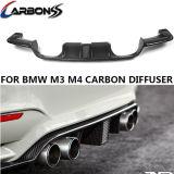 Kohlenstoff Fiber Rear Diffuser mit Light Bumper Lip Spoiler für BMW M3 M4