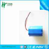 18650 batería del Li-ion de 4400mAh 2p3s para la luz del LED
