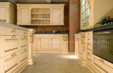 Mobiliário de cozinha Rehab Armário de cozinha de luxo de madeira maciça de estilo americano