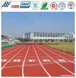 Iaaf approuvé Synthetic PU Running Track / Runway / Tartan pour Sports Field