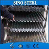 루핑을%s 0.23mm 직류 전기를 통한 아연 입히는 물결 모양 강철판