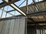 Casa de painel clara da parede do cimento