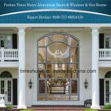 Fenêtres en aluminium avec le design le plus récent et la couleur différente