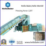 Automatisch Hydraulisch Papierafval, Van het Karton het In balen verpakken van het Ce- Certificaat Machine