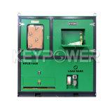 Зеленый цвет 1000KW нагрузки банка для проверки генератора дизельного двигателя